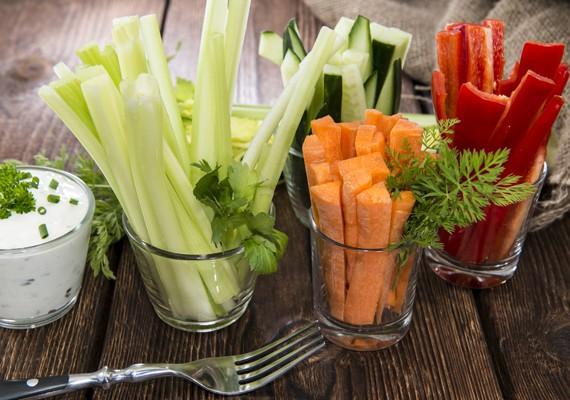 Verduras crudas para reducir calorías