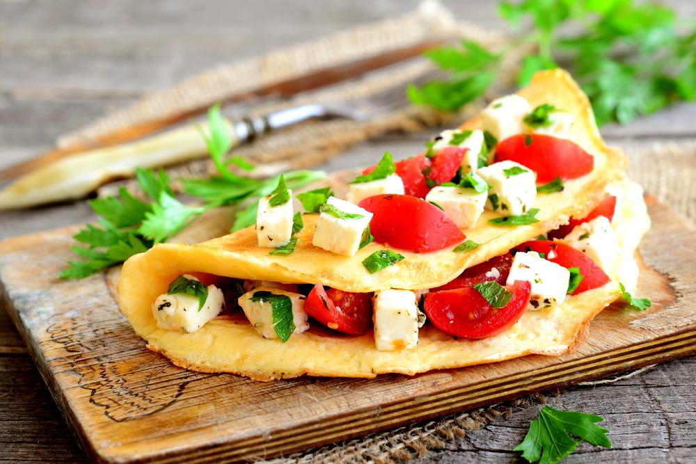 reducir calorías con la tortilla francesa