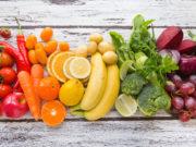 alergia fruta y verduras