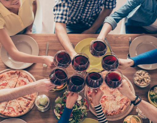dieta y el vino