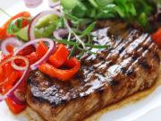 bistec de ternera con pimientos